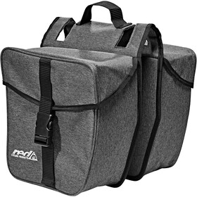 Red Cycling Products Double Urban Bag Bolsa Transporte Equipaje, grey